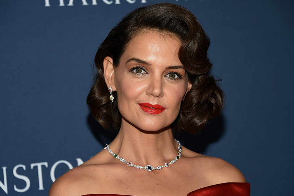 Katie Holmes 2018 bei der New York Collection Party. Auch hier ohne Jamie.