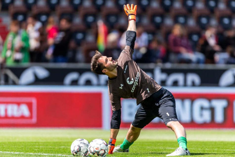 Korbinian Müller stand bereits in der vergangenen Saison beim FC St. Pauli unter Vertrag.