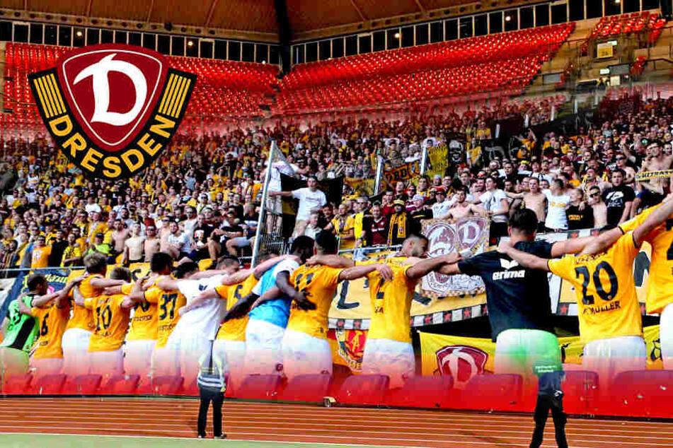 Die Statik! Hüpf- und Stehverbot bei Dynamo-Spiel in Nürnberg