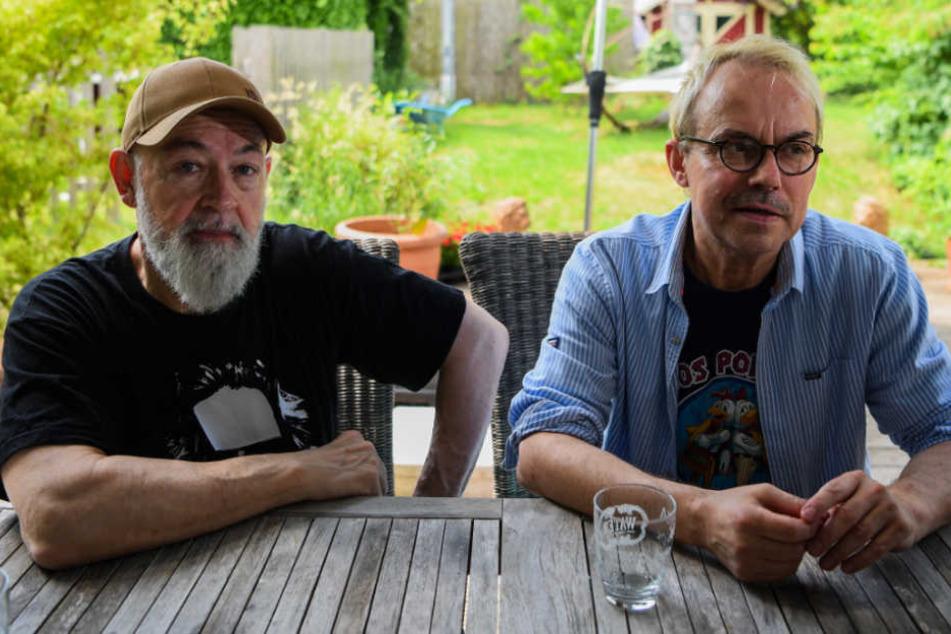 Ein großer Erfolg für Gerd Knebel (l.) und Henni Nachtsheim (61).