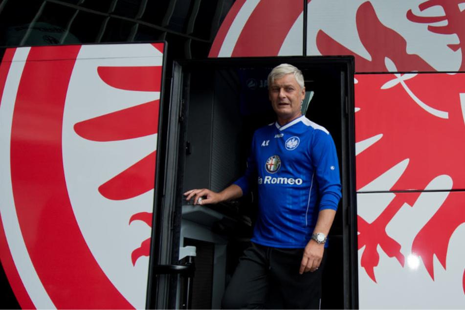 Auch Fußballtrainer Armin Veh war mal ein Frankfurter Adler (Archivbild).
