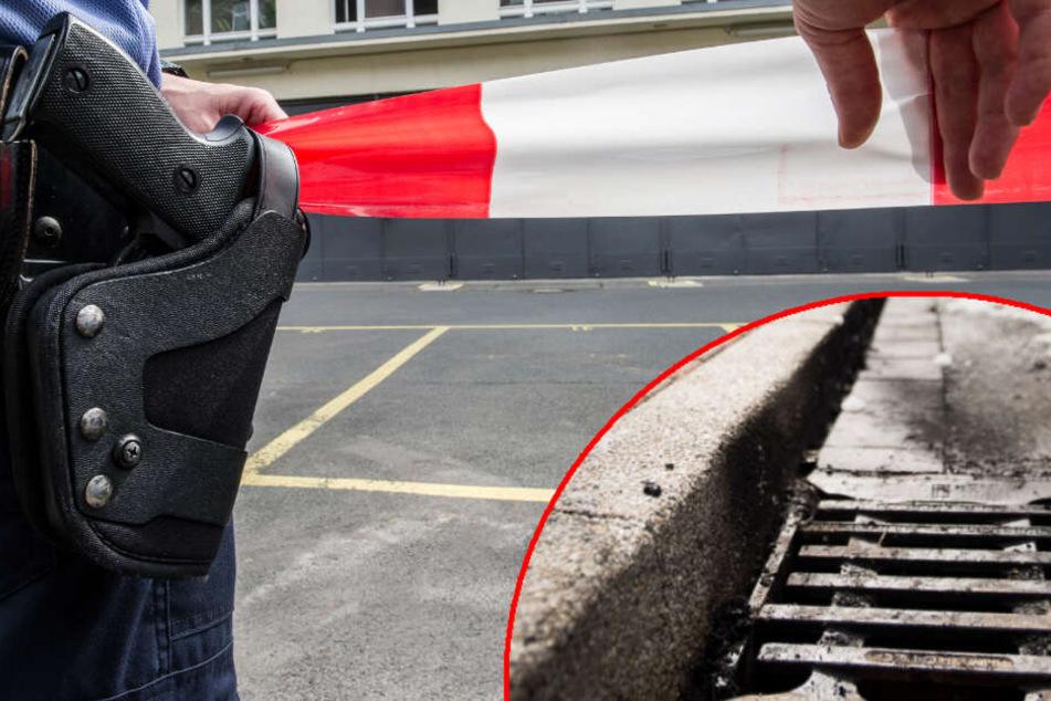 Tragische Wendung: Mann greift in Gully und stirbt