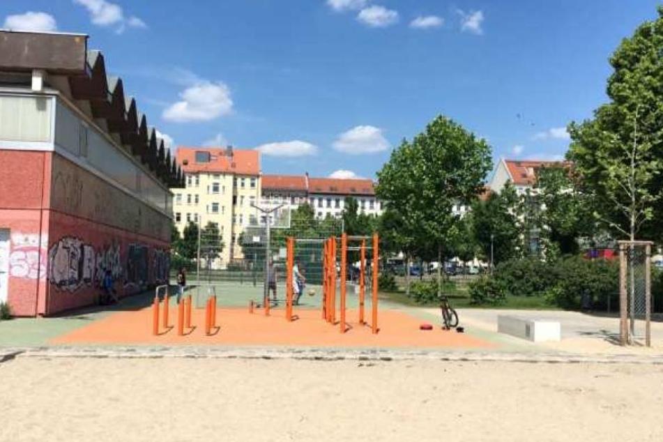 Wieder war der Stadtteilpark Rabet an der Eisenbahnstraße Schauplatz für ein Gewaltverbrechen. (Archivbild)