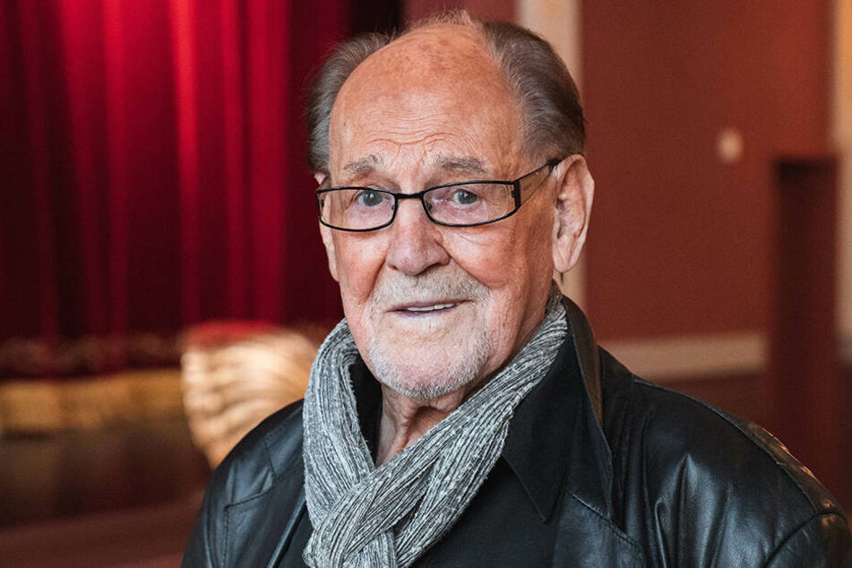 Herbert Köfer steht seit fast 80 Jahren auf der Bühne.