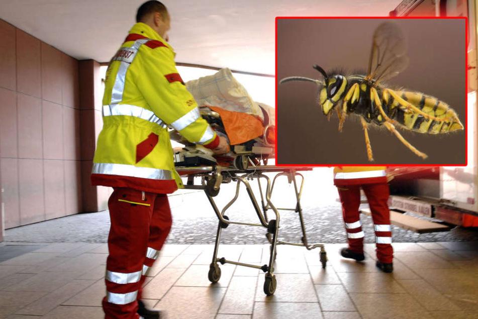 Noch auf dem Weg in die Klinik verstarb der Mann (78). (Symbolbild)