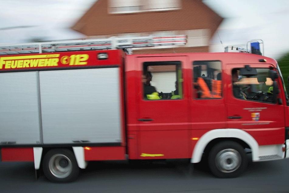 Das hatte die Feuerwehr sicherlich auch noch nicht erlebt... (Symbolbild).