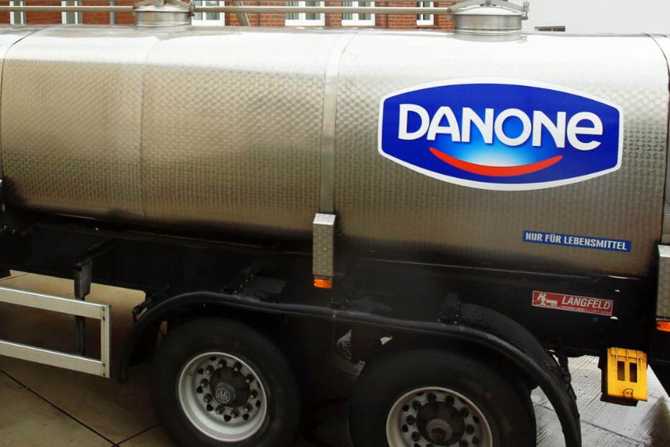Danone hat sich entschieden, ein Werk in Rosenheim zu schließen. (Symbolbild)