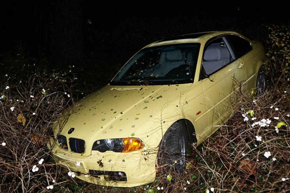 Einige Schrammen und Beule, doch der Wagen blieb fahrtüchtig.