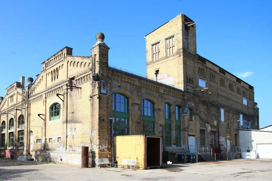 Das Kunstkraftwerk in der Saalfelder Straße. Früher wurde hier noch richtig malocht.
