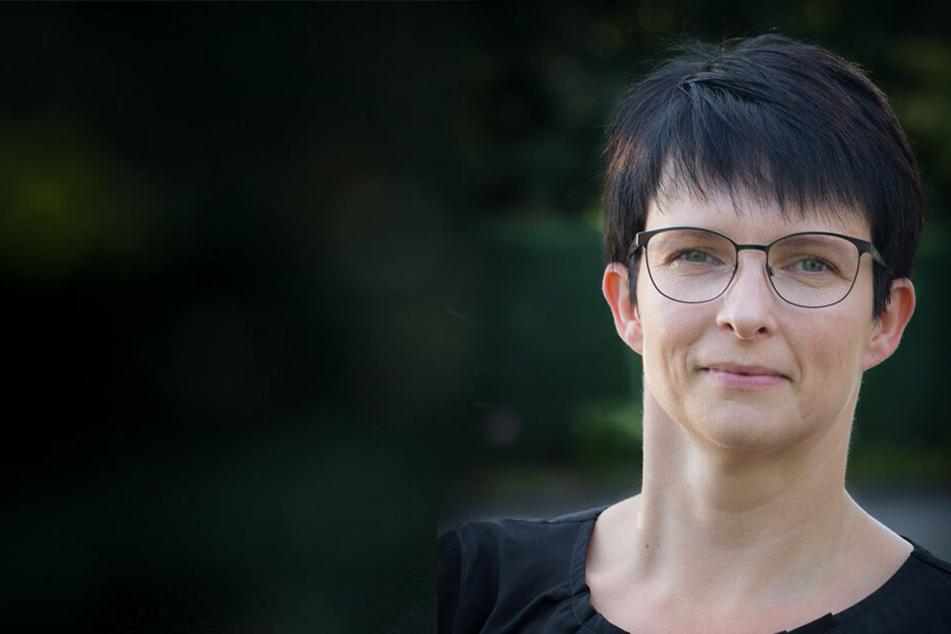 Stephanie Hahn-Schaffarczyk (40), Vorsitzende des Sächsischen Hebammenverbands hat sich in Lübeck selbst angeschaut, wie gut die Umstellung auf einen Hebammen-Studiengang funktionieren kann.