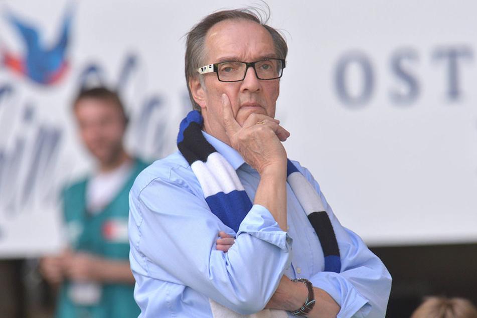 Seit August 2013 ist Hans-Jürgen Laufer DSC-Präsident und das will er auch bleiben.