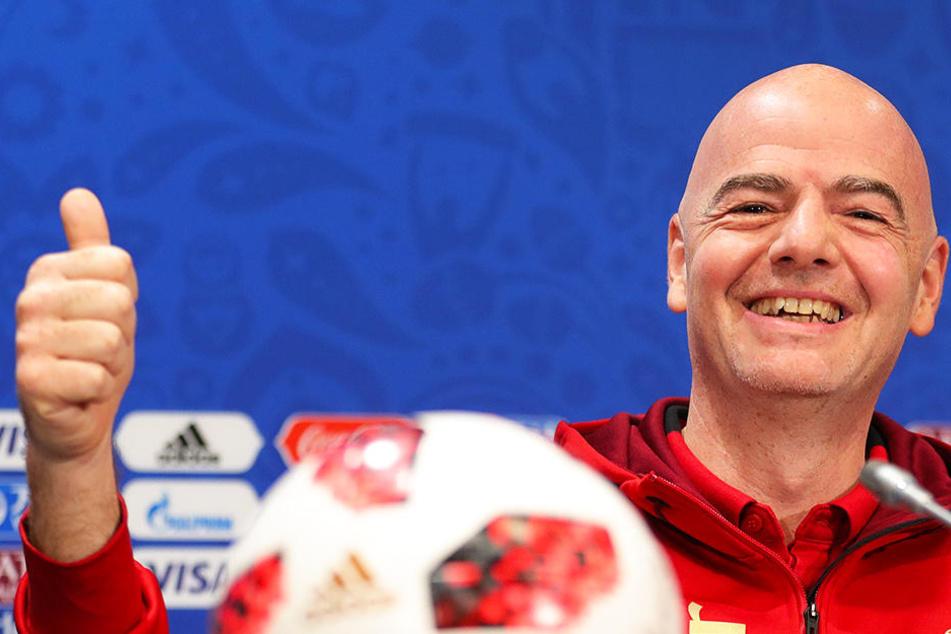 """FIFA kontert Vorwürfe: """"Falsche Gerüchte und Anspielungen"""""""