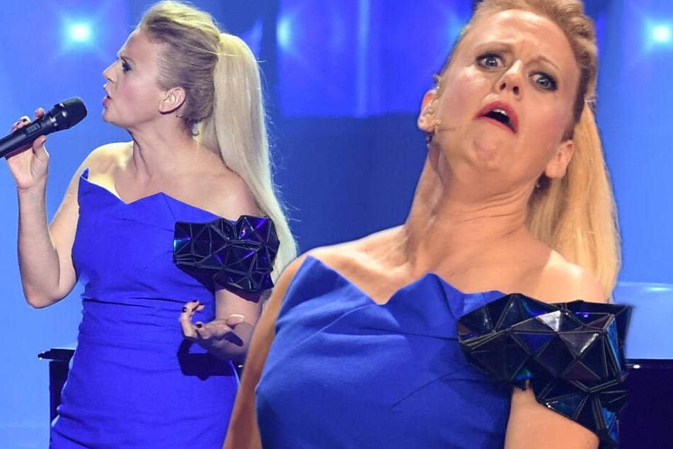 Fashion-Fauxpas: Das Netz lacht über Barbara Schönebergers ESC-Kleid