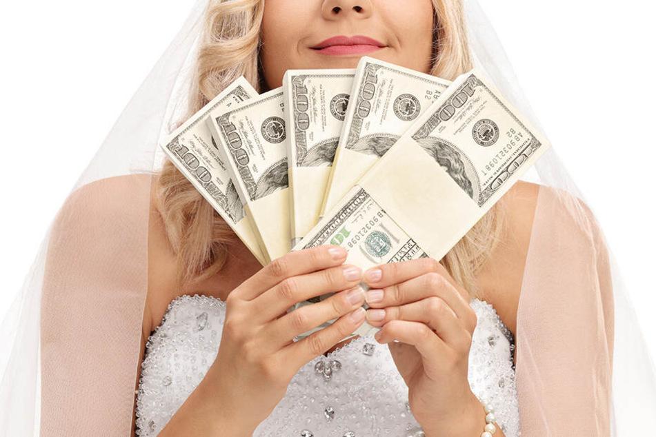 Die Braut musste das Geld am Ende doch noch bezahlen. (Symbolbild)