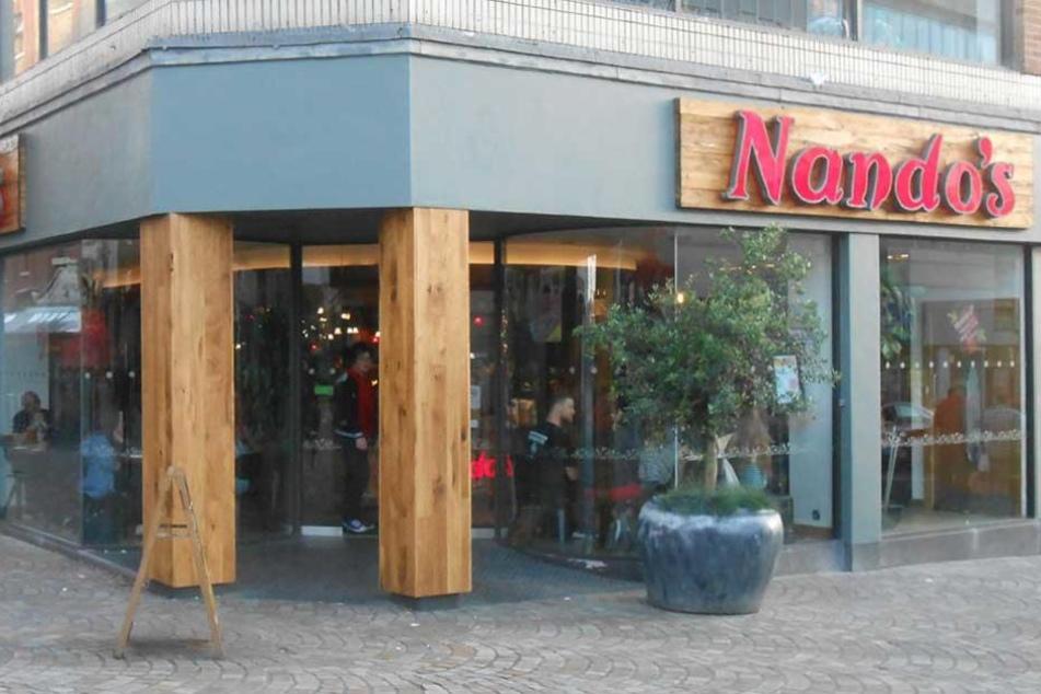 In einem Nando's-Restaurant in London spielten sich die Szenen ab (Symbolbild).