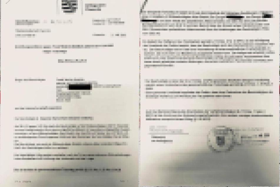 Diese Dokumente tauchten im Netz auf.