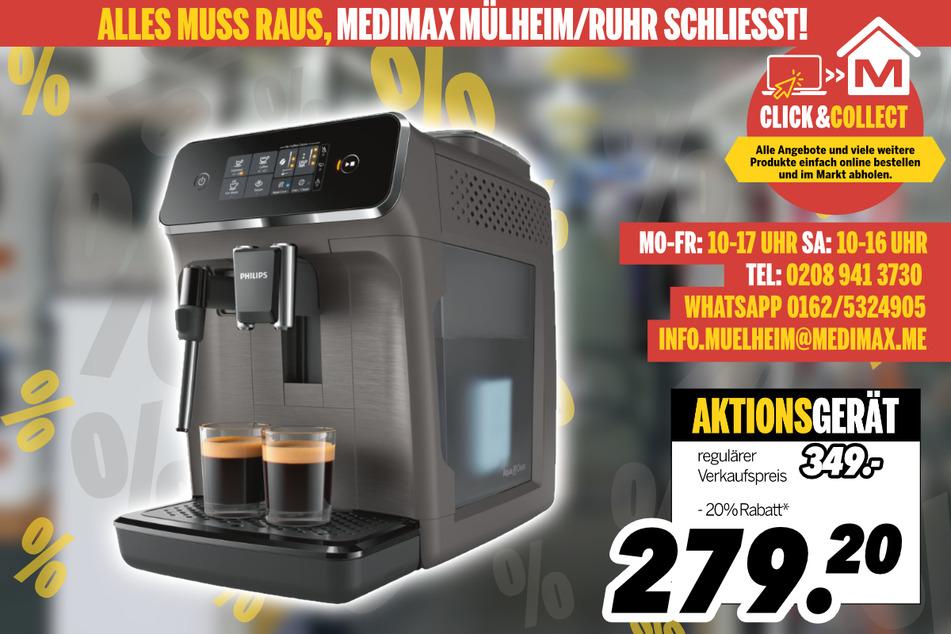 Kaffeevollautomat von Philips für 279,20 Euro