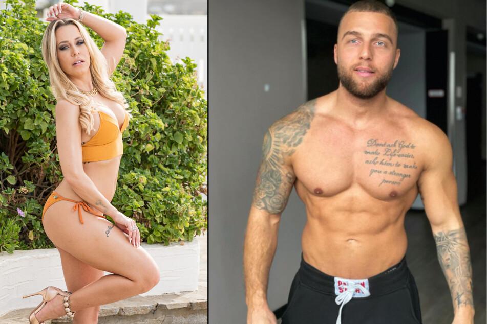 Jacqueline Siemsen (31) wollte nicht für Pietro Lombardi (29) strippen, weil dessen Freund Filip Pavlovic (27) ihr offenbar zu wenig Geld geboten hat. (Fotomontage)