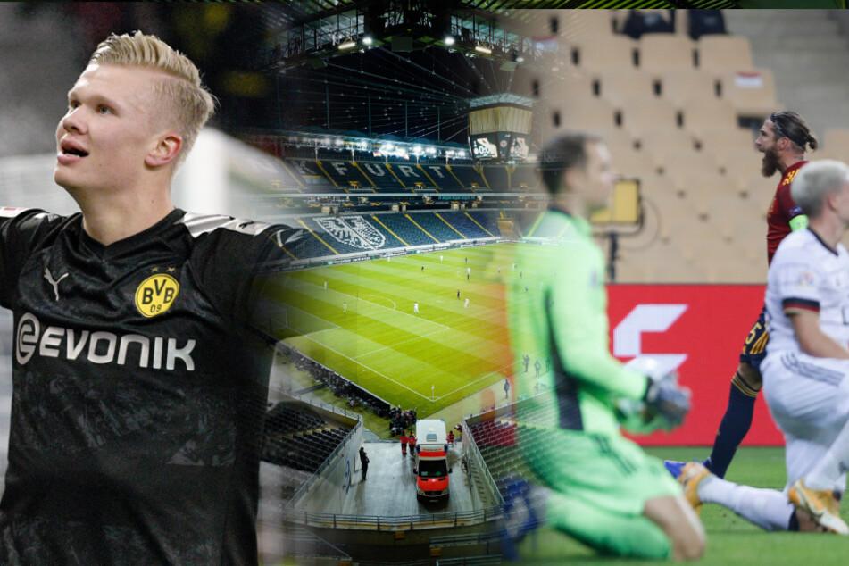 Kurioses Fußball-Jahr: Das sorgte 2020 für Aufregung