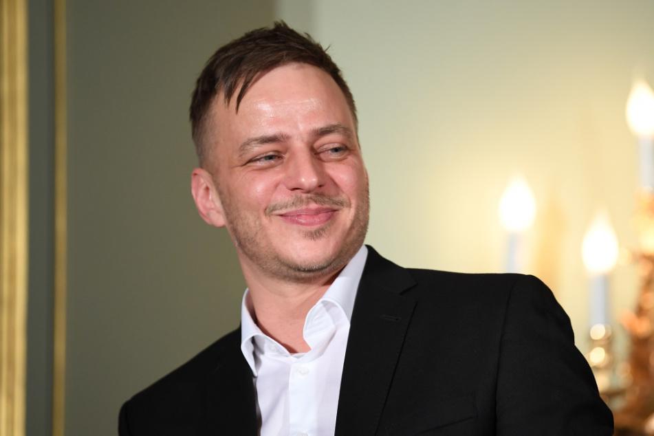 """Tom Wlaschiha (47) bei der Party """"Movie meets Media"""" im Rahmen der Berlinale 2019."""