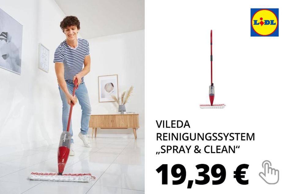 """VILEDA Reinigungssystem """"Spray & Clean"""""""