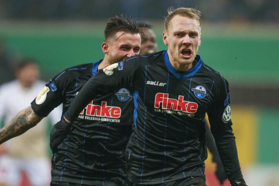 Dem 26-Jährigen gelang gegen Kiel ein fettes Doppelback.