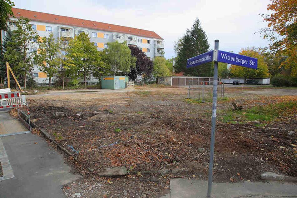 Auf diesem Grundstück an der Alemannenstraße rollen in den nächsten Wochen die Bagger an.