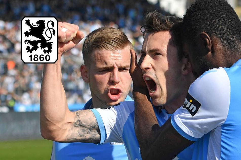 Löwen krallen sich in Liga drei fest! TSV 1860 München schlägt SV Meppen