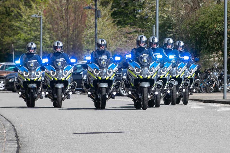 Alles schick für Staatsgäste: So sehen die neuen Motorräder aus.