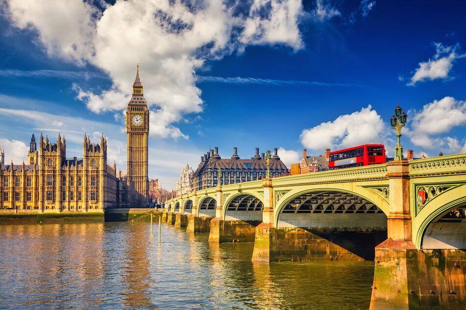 Die Flüge nach London starten dreimal wöchentlich.