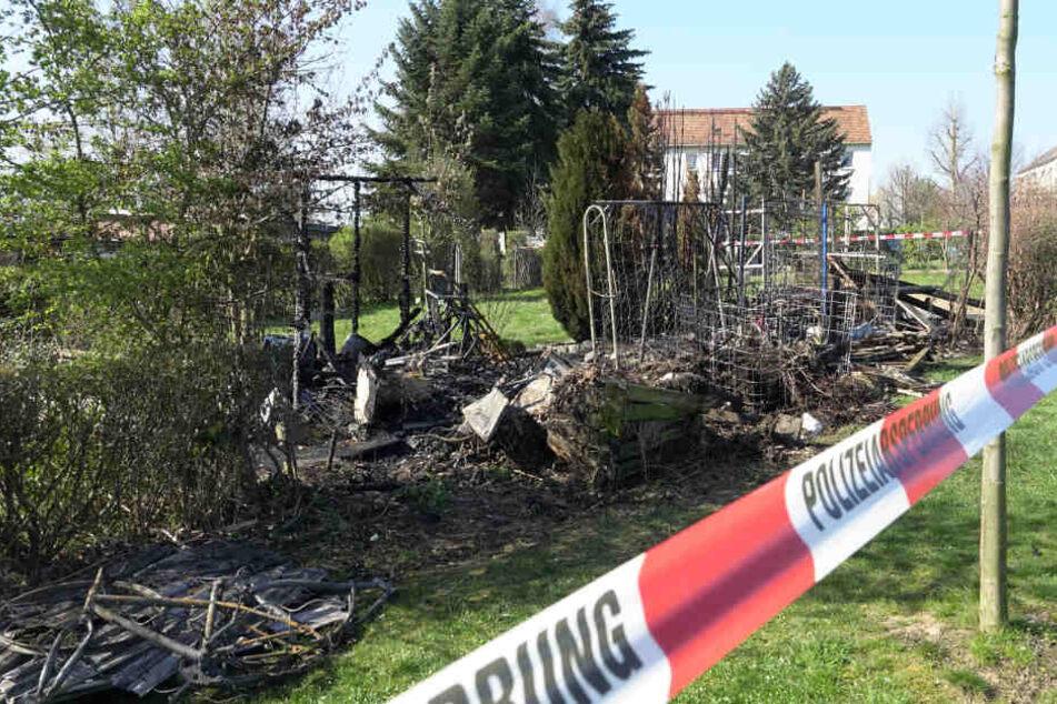 Feuer in Kleingarten: Brandstifter erneut in Mittweida unterwegs?