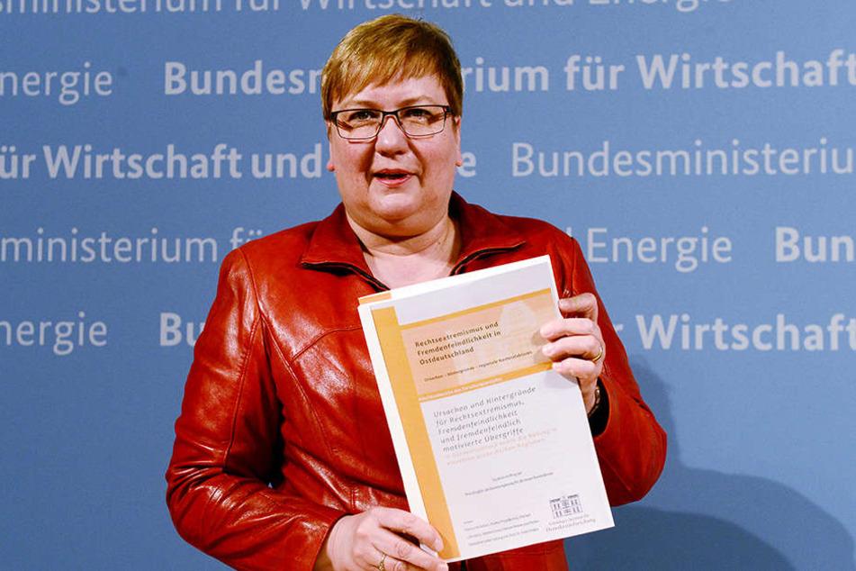 Rechtsextremismus gebe es aber auch in den alten Bundesländern, so Iris Gleicke.