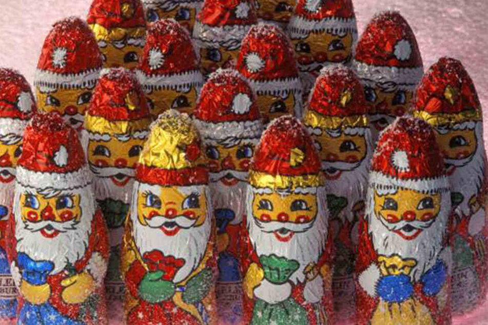 Die Weihnachtsmänner von Gut & Günstig sind mit Mineralölen belastet.