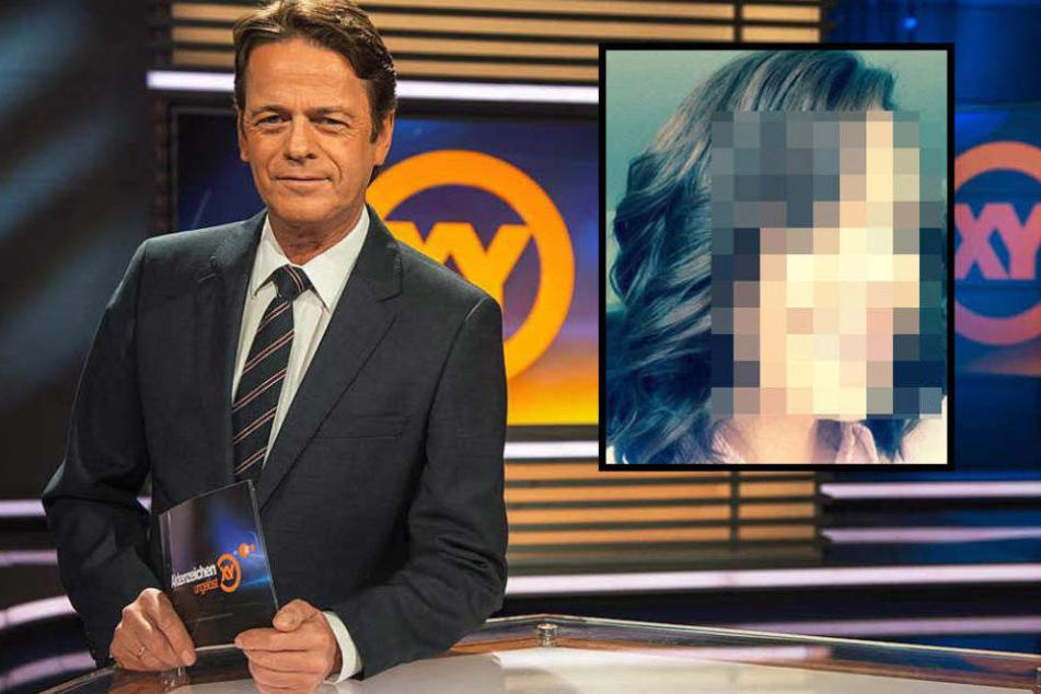 """Rudi Cerne sucht im ZDF nach Tätern bei der Sendung """"Aktenzeichen XY ungelöst""""."""