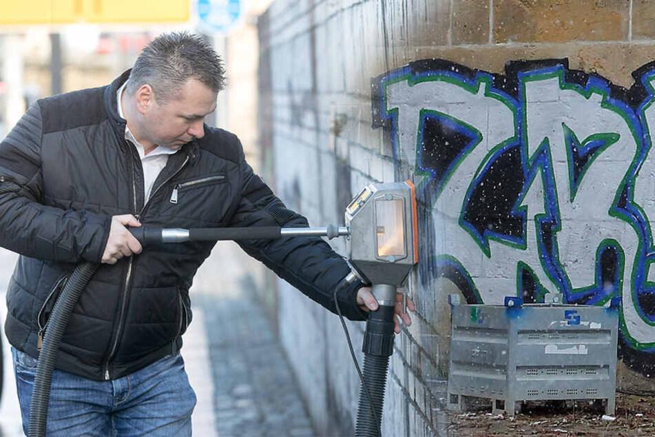 Dresden: Hässliche Schriftzüge: So viel kosten uns Graffiti-Schmierer