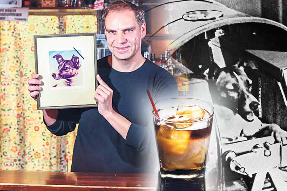Cocktail erinnert an erste Tote im All