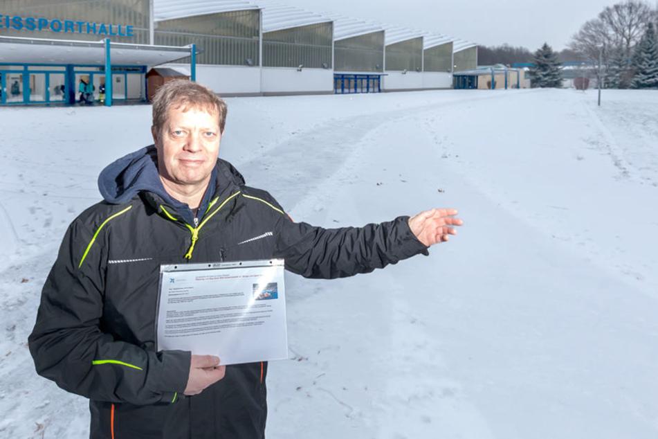 Die Petition für ein neues Hallenbad am Küchwald von Thomas Ebell (54) vom  Schwimmclub Chemnitz findet eine große Unterstützung.