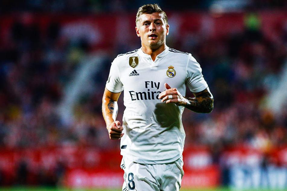 Musste mit Real Madrid die erste Saisonniederlage einstecken: Der deutsche Nationalspieler Toni Kroos.