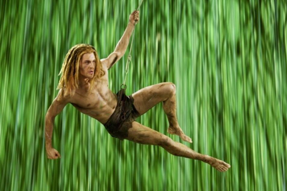 """Die undatierte Aufnahme zeigt den Sänger und """"Tarzan""""-Darsteller Alexander Klaws während der Proben zum Musical """"Tarzan"""" in Hamburg."""