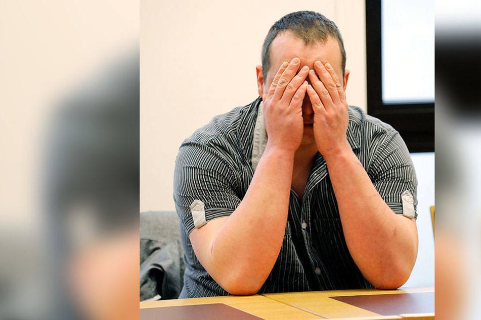 Marco S. (29) wurde am Donnerstag vom Amtsgericht Chemnitz zu insgesamt zwei Jahren und vier Monaten Haft verurteilt.