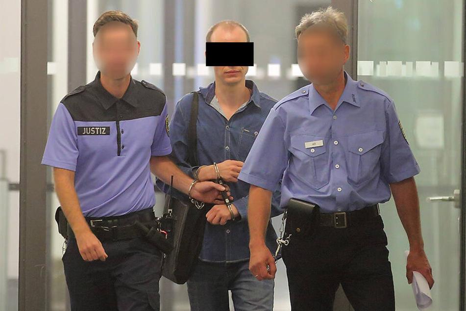 Nino K. (32) hat noch viele Jahre Haft vor sich.