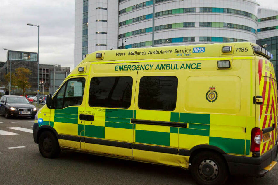 Der kleine Dougie wurde nach seinem Unfall schnell in ein Krankenhaus nach Birmingham gebracht. (Symbolbild).