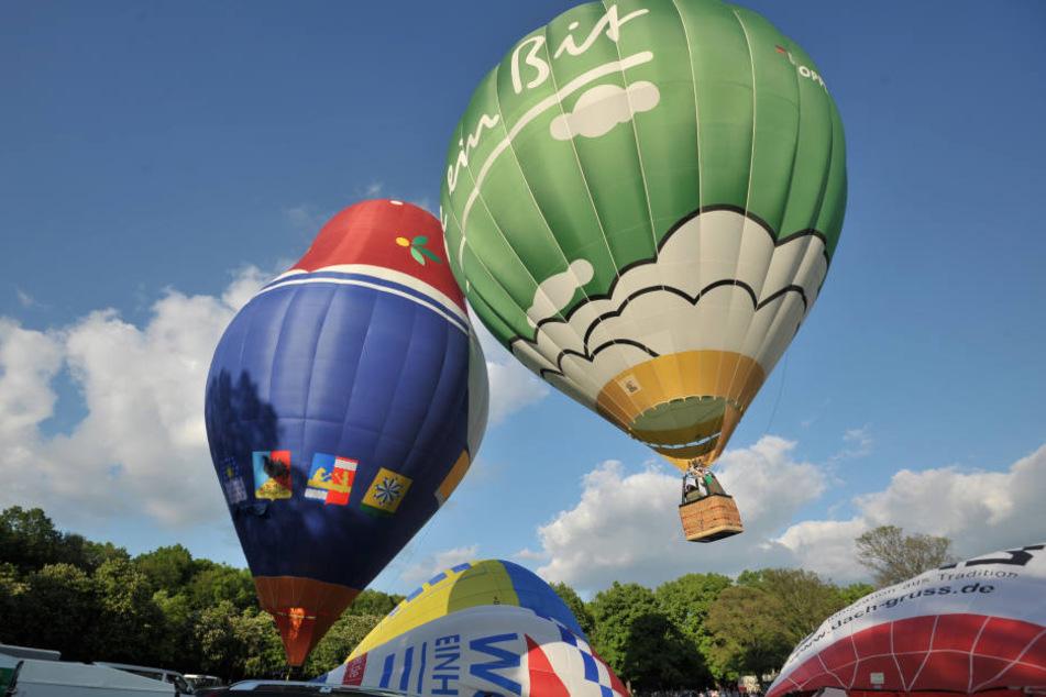 Das 14. Chemnitzer Ballonfest startet am Donnerstag.