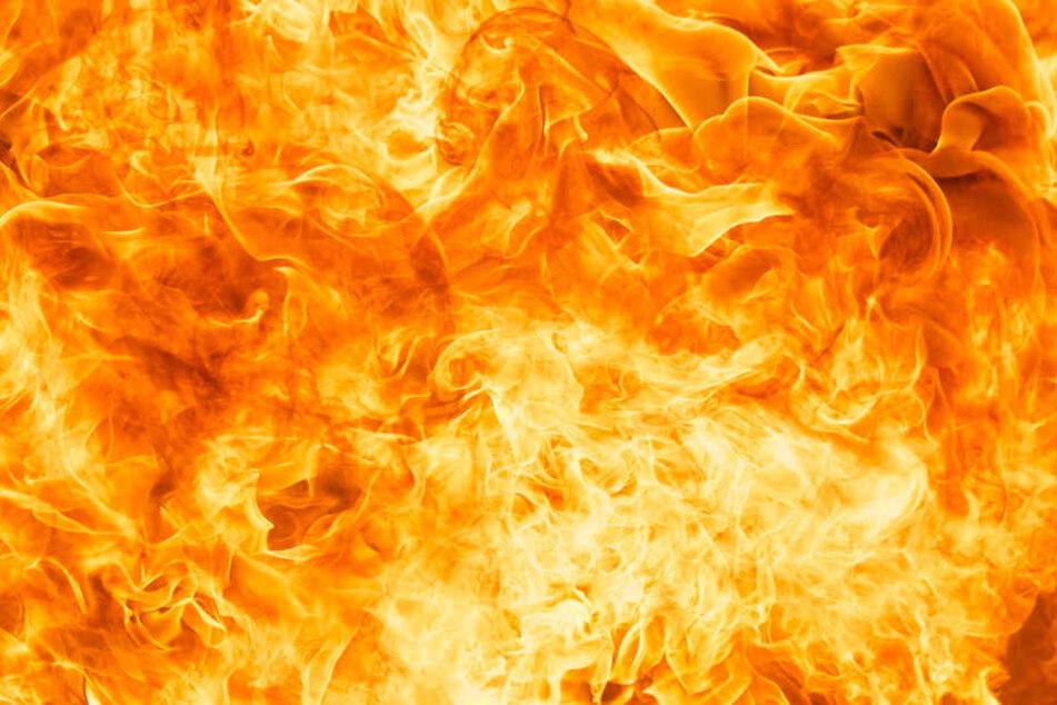 Shiva Prasad (30) überlebte das Feuer nicht. (Symbolbild)