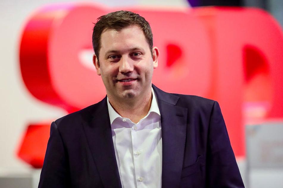 SPD-Generalsekretär Lars Klingbeil (39) freut sich über die Eintrittswelle bei seiner Partei.