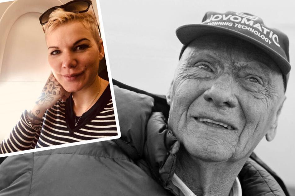 Melanie Müller hat im Bierkönig an den verstorbenen Niki Lauda erinnert.