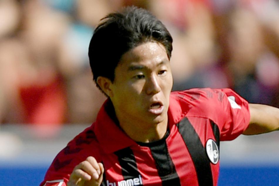 Changhoon Kwon vom SC Freiburg darf derzeit nicht spielen (Archivbild).