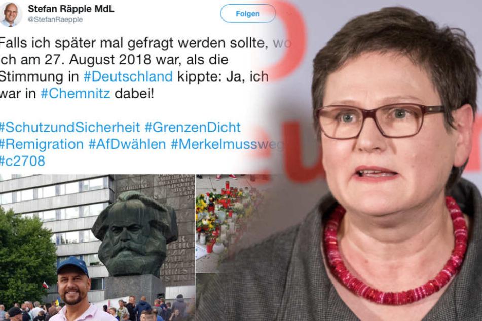 Nach Chemnitz-Tweet: SPD-Landeschefin will AfD-Abgeordnete beobachten lassen