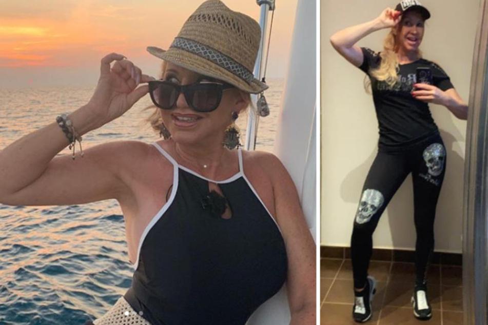 Mit gesunder Ernährung und viel Sport purzelten bei Carmen Geiss in der vergangenen Woche die Kilos