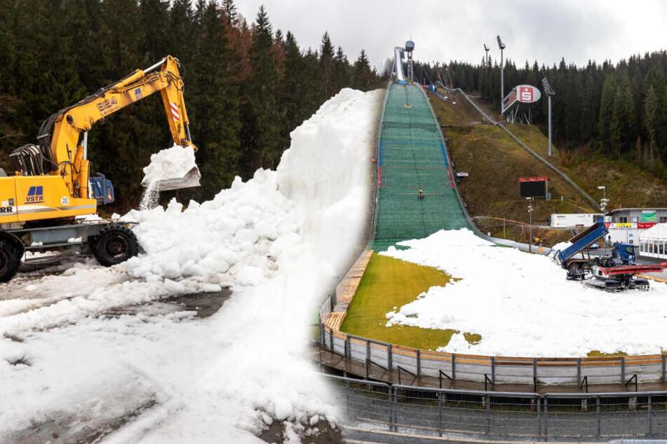 Dem Vogtland geht der Schnee nicht aus